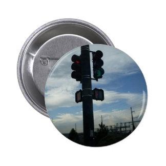 streetlight pinback button