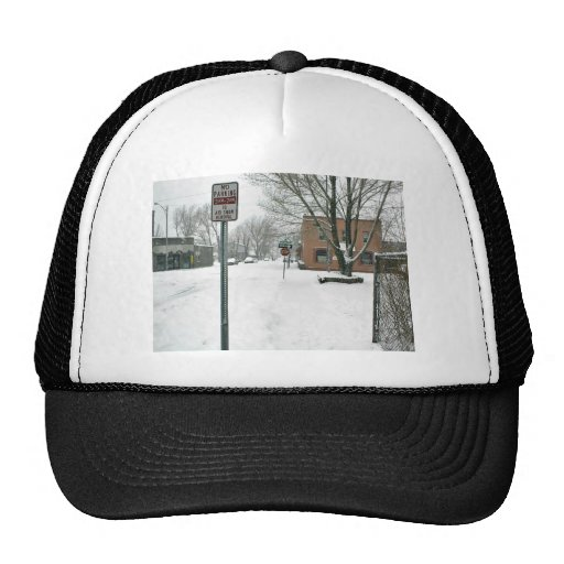 Streets Covered in a Blanket of Snow Trucker Hat