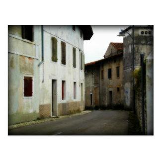 Streets of Aviano Postcard
