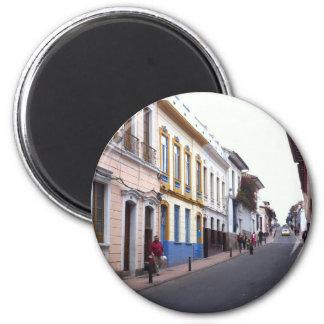 Streets of Bogota Fridge Magnets