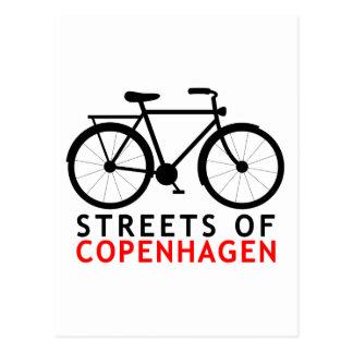 Streets of Copenhagen Postcard