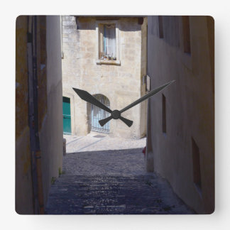 Streets of Europe Wall Clock
