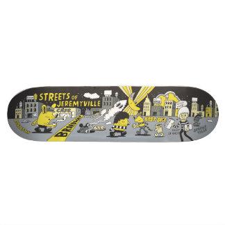 Streets of Jeremyville Skate Deck