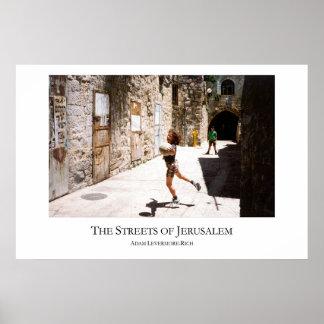 Streets of Jerusalem - Large Version Poster