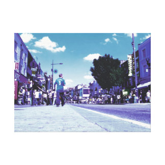 Streets of London Camden Picture Photo on Canvas