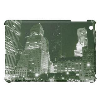 Streets of Manhattan at Night, New York City iPad Mini Cases