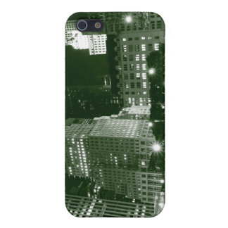 Streets of Manhattan at Night, New York City iPhone SE/5/5s Cover