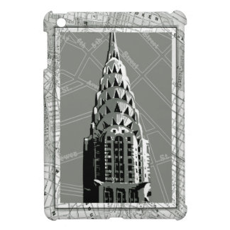 Streets of New York with Empire State Building iPad Mini Cover