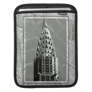 Streets of New York with Empire State Building iPad Sleeves