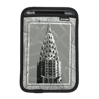 Streets of New York with Empire State Building iPad Mini Sleeves