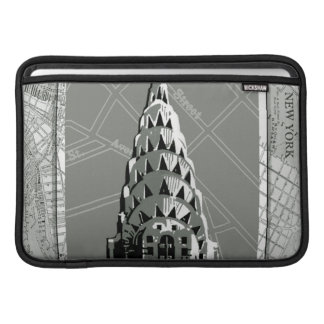 Streets of New York with Empire State Building Sleeve For MacBook Air