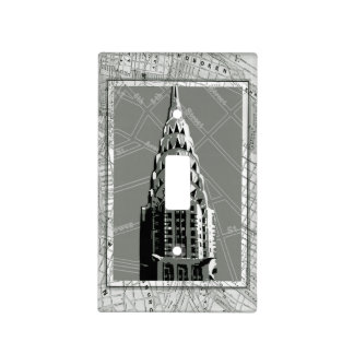 Streets of New York with Empire State Building Switch Plate Covers