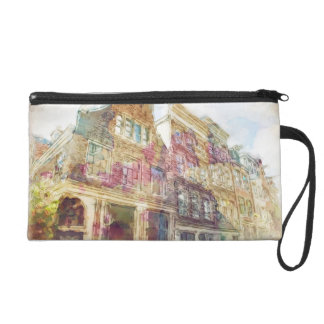 Streets of Old Amsterdam Wristlet
