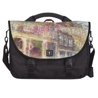 Streets of Old Amsterdam Laptop Bag