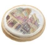 Streets of Old Amsterdam Round Premium Shortbread Cookie