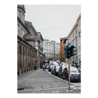 Streets of Rome Poster