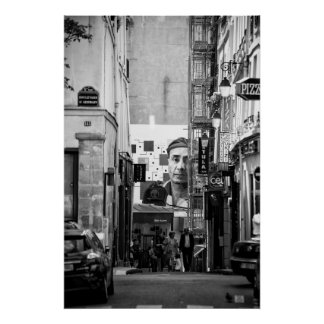 Streets of the Paris - Poster