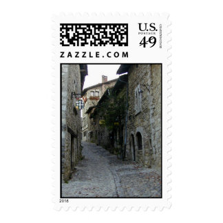 Streets of the Past Postage