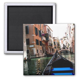Streets of Venice 2 Inch Square Magnet
