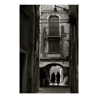 Streets of Venice II Poster