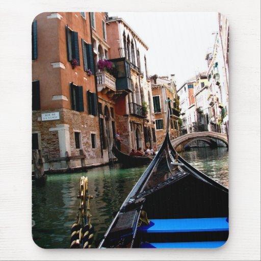 Streets of Venice Mouse Pad