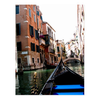Streets of Venice Postcard