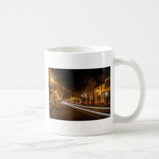 Streets of York, SC at night Coffee Mug