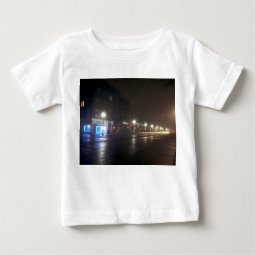 Streetscape IV  - Greenfield as Paris Baby T-Shirt