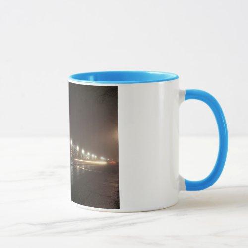 Streetscape IV  - Greenfield as Paris Mug