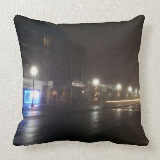 Streetscape IV - Greenfield as Paris Pillows