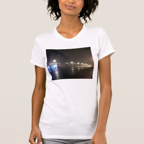 Streetscape IV - Greenfield as Paris T-Shirt