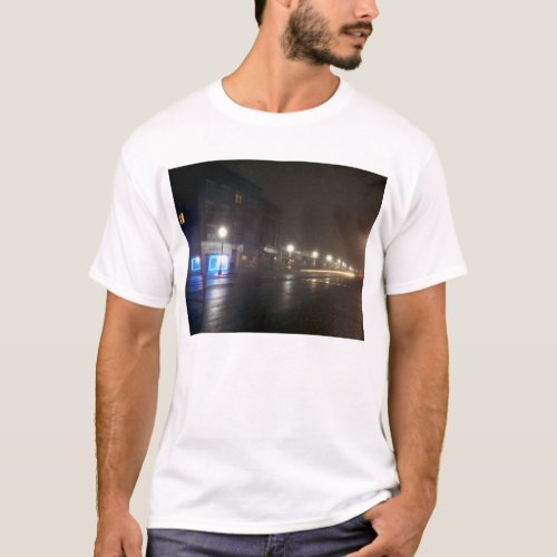 Streetscape IV  - Greenfield as Paris T-Shirt
