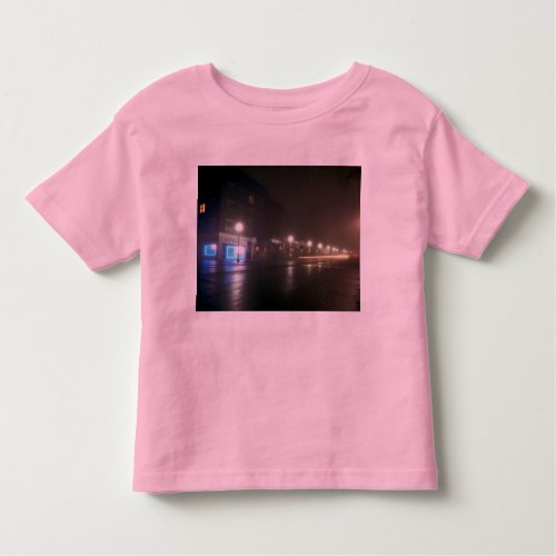 Streetscape IV  - Greenfield as Paris Toddler T-shirt