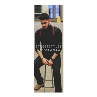 streetstylesoftoronto Double-Sided mini business cards (Pack of 20)