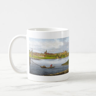 Strehla by Carl Wilhelm Arldt 1840 Coffee Mug