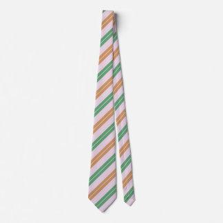 Streifen grün braun stripes green brown tie