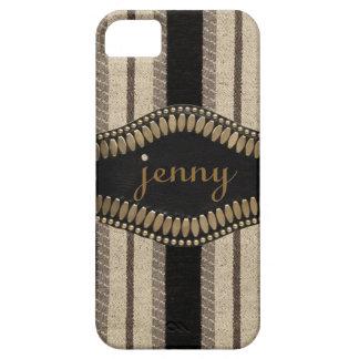 Streifen, Metallanfangs- oder NamensIPhone 5 Kaste iPhone SE/5/5s Case