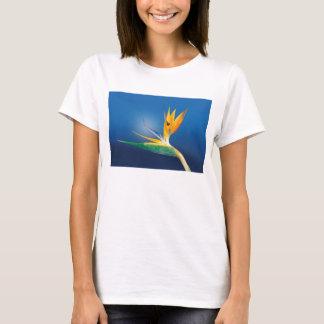 Strelitzia. Bird of paradise flower. T-Shirt