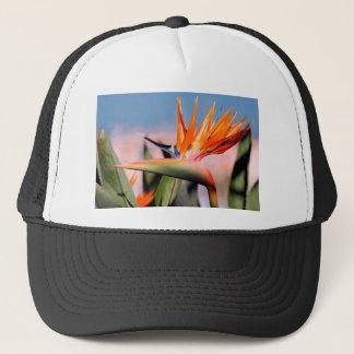 Strelitzia flower trucker hat