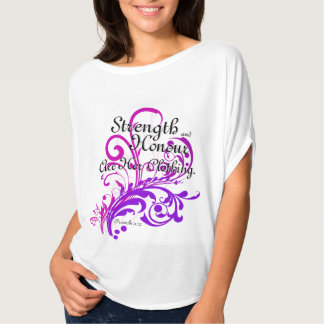 Strength and Honor Proverbs 31 Christian Women's Shirt
