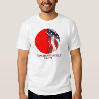 Strength And Support: The Japanese Disaster T-shirt