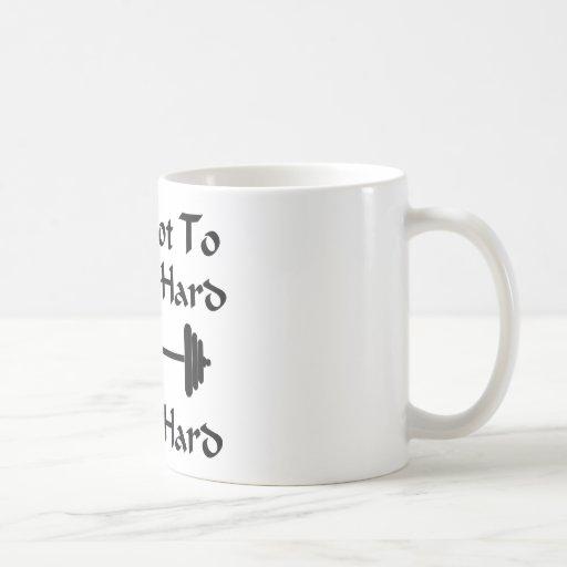Strength - Be Hard Classic White Coffee Mug