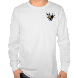 Strength Black Crest T Shirts