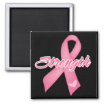 Strength - Breast Cancer Fridge Magnets