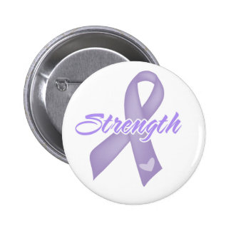 Strength - Cancer Pinback Button