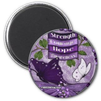 Strength, Courage Fibro Magnet