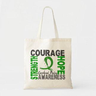 Strength Courage Hope Cerebral Palsy Tote Bag