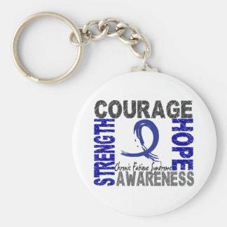 Strength Courage Hope CFS Keychain