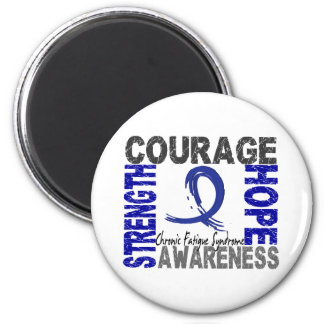 Strength Courage Hope CFS Magnets