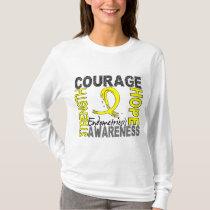 Strength Courage Hope Endometriosis T-Shirt